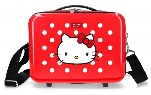 4223922 neceser castle of hello kitty rojo