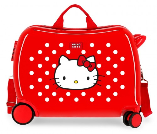 4229822 neceser castle of hello kitty rojo
