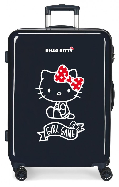 4231821 maleta mediana hello kitty girl gang
