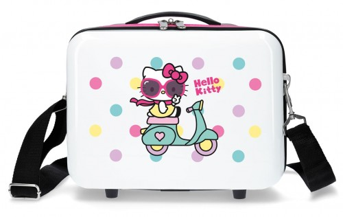4233922 neceser hello kitty girl gang blanco