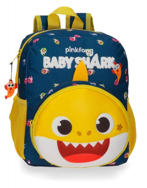 21121D1 Mochila Adaptable 28 cm Baby Shark My Good Friend