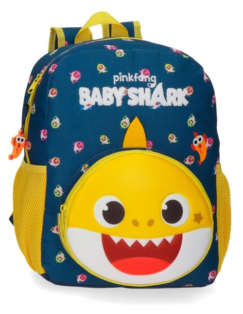 21122D1 Mochila Adaptable 32 cm Baby Shark My Good Friend