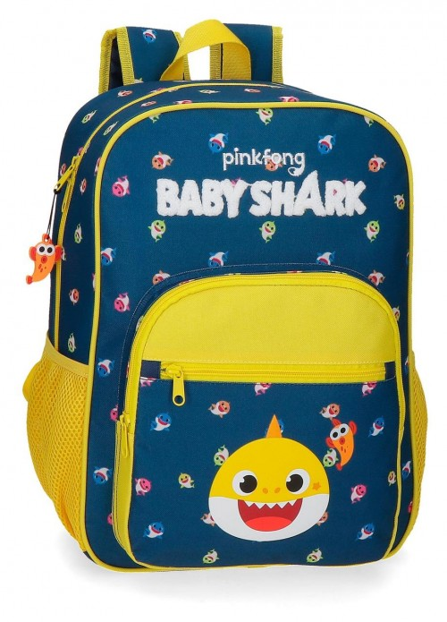 21123D1 Mochila Mediana 38 cm Baby Shark My Good Friend