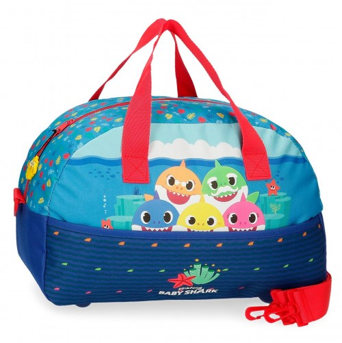 2123221 Bolsa de Viaje 40 cm Baby Shark Happy Family