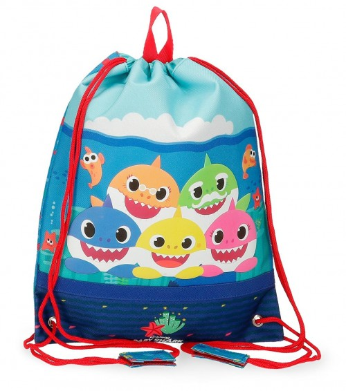 2123721 Bolsa de Merienda Baby Shark Happy Family