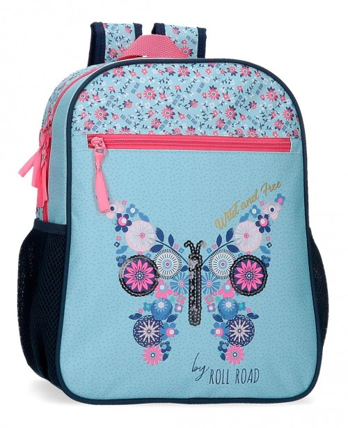 40822D1 mochila pequeña 33 cm roll road wild and free