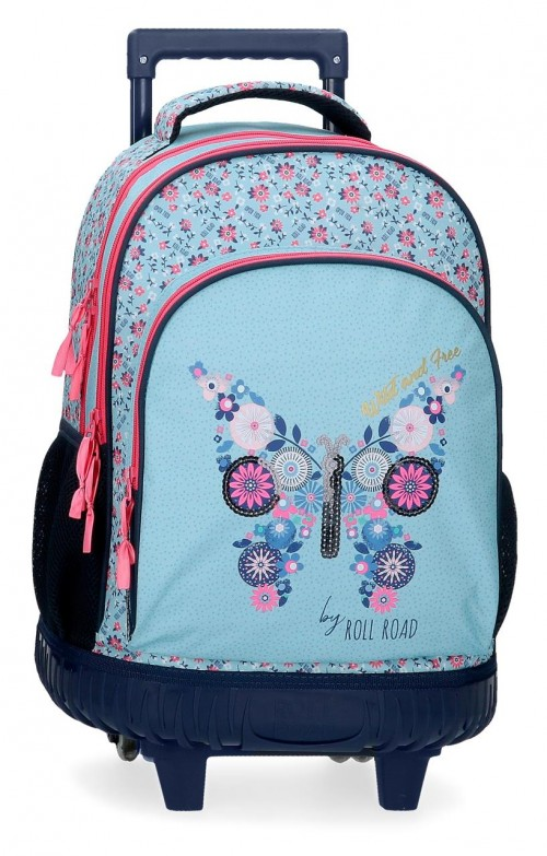 4082921 mochila compacta roll road wild and free