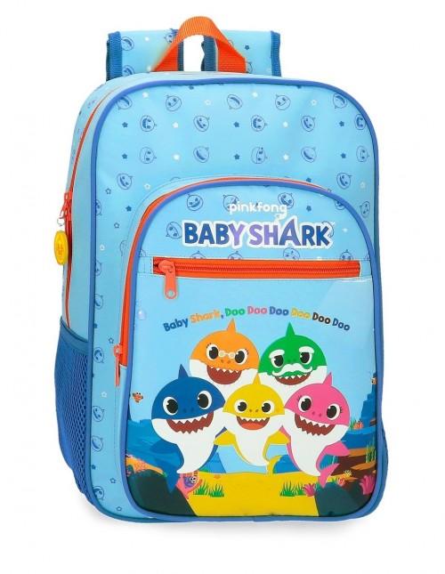 4152321 mochila mediana 38 cm baby shark