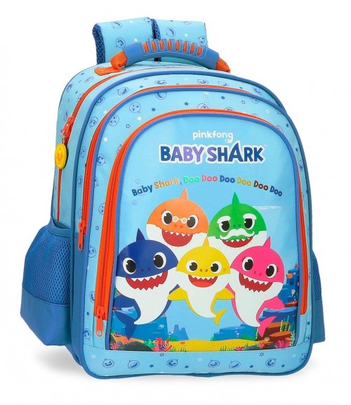 4152521 mochila mediana 38 cm baby shark