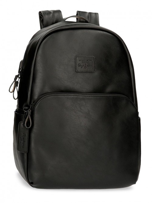 7152321 mochila portaordenador Pepe Jeans Vegan negro