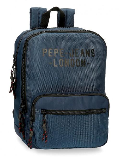 7162223 mochila portaordenador 36 cm Pepe Jeans Bromley azul