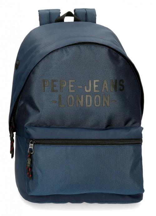 7162323 mochila 42 cm Portaordenador Pepe Jeans Bromley azul