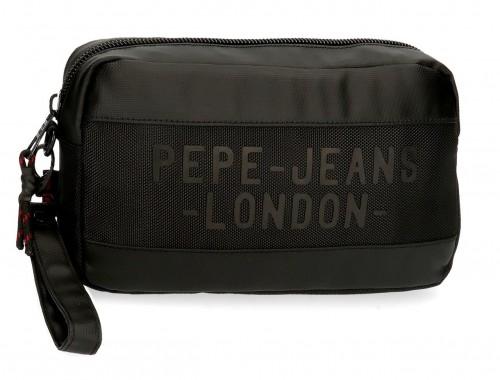 7164121 bolso de mano pepe jeans bromley negro