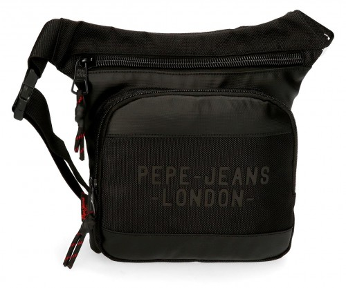 7164921 riñonera 31 cm pepe jeans bromley negro