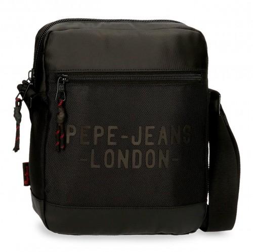 7165621 bandolera portatablet 27 cm pepe jeans bromley negro