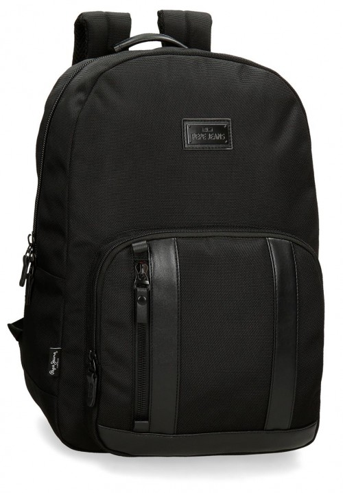 7472361 mochila 44 cm Pepe Jeans All Black