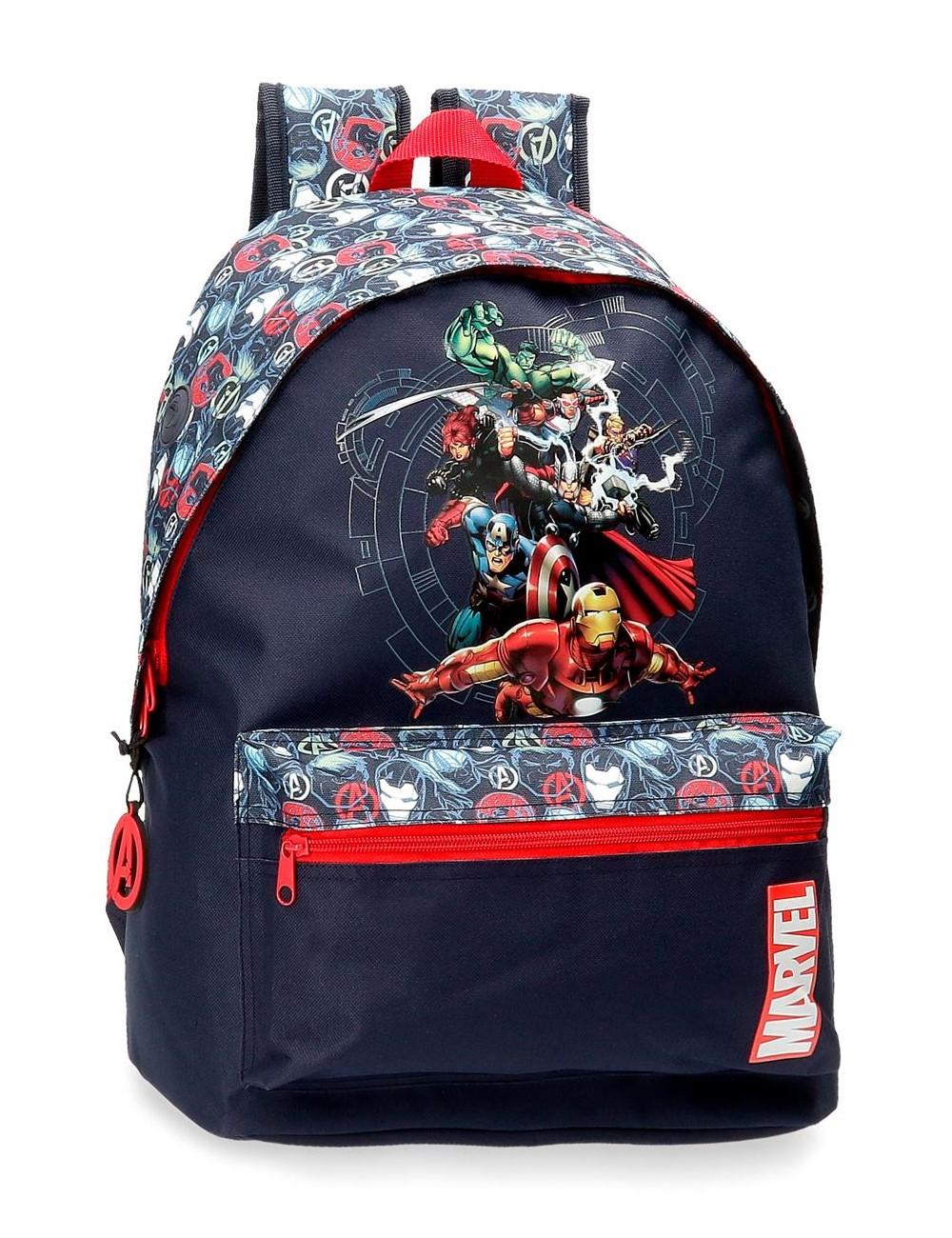 Mochila Grande 42cm Avengers Team 4432421