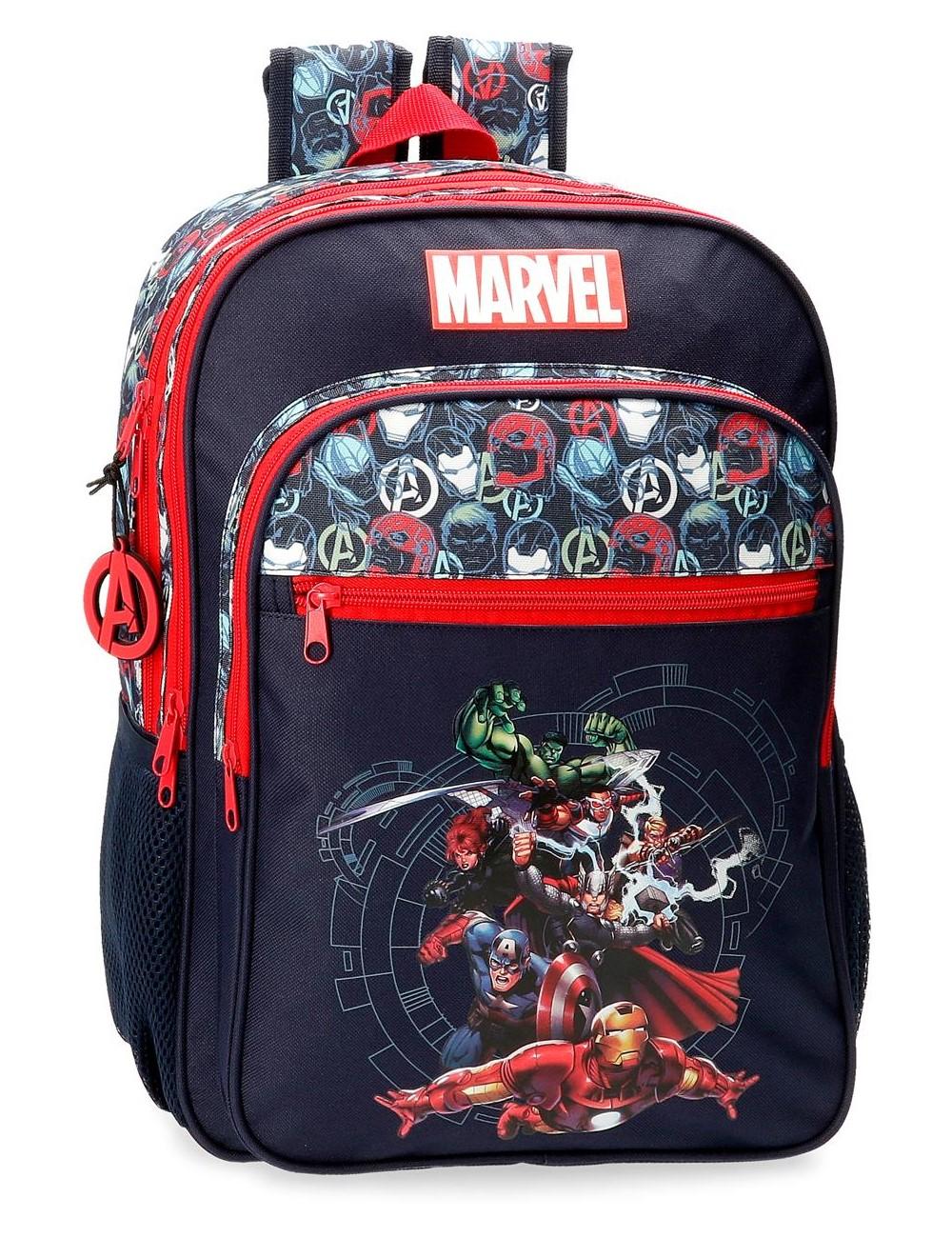Mochila Grande 44cm Doble C. Avengers Team 4432521