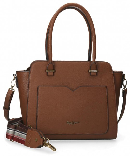 7277222 Bolso Pepe Jeans India Marrón
