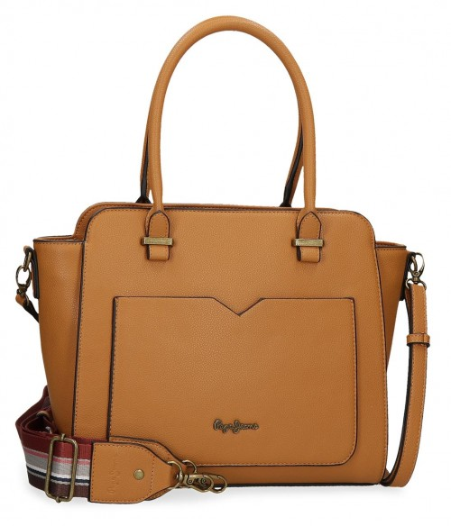 7277224 Bolso Pepe Jeans India Ocre