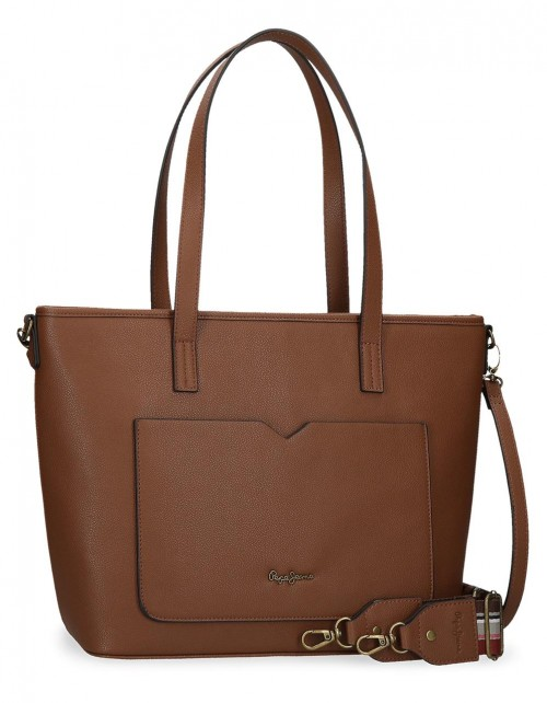 7277522  Bolso Pepe Jeans India Marrón