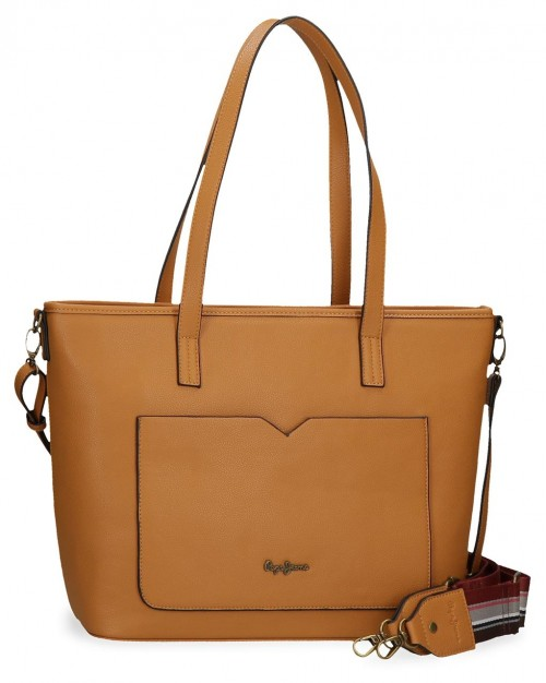 7277524 Bolso Pepe Jeans India Ocre