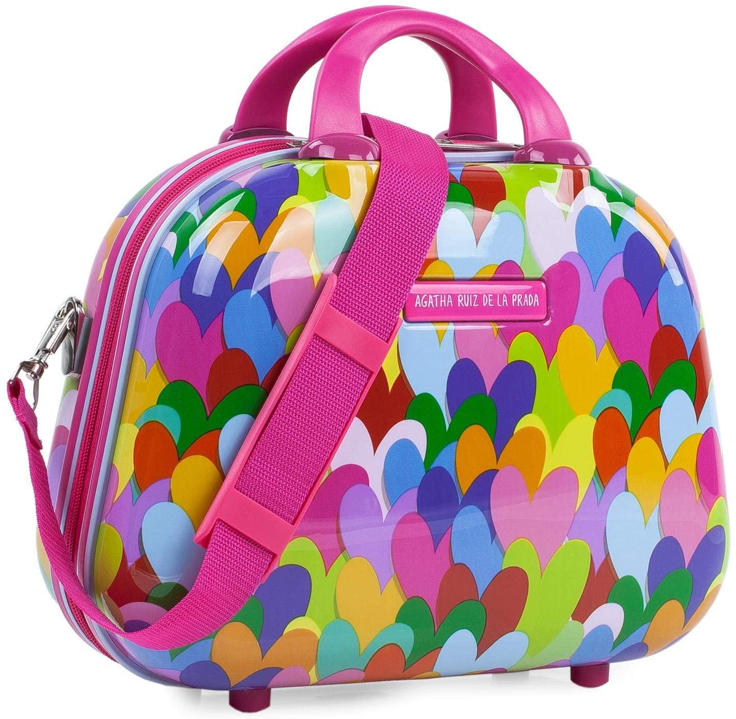 131135 Neceser Agatha Ruiz de la Prada Corazones Colores