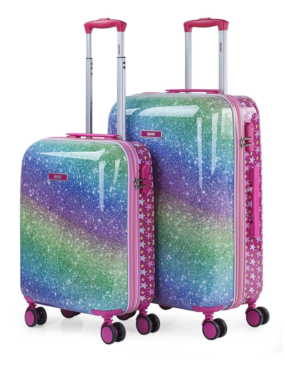 131300 Juego maletas cabina y mediana Skpat Star