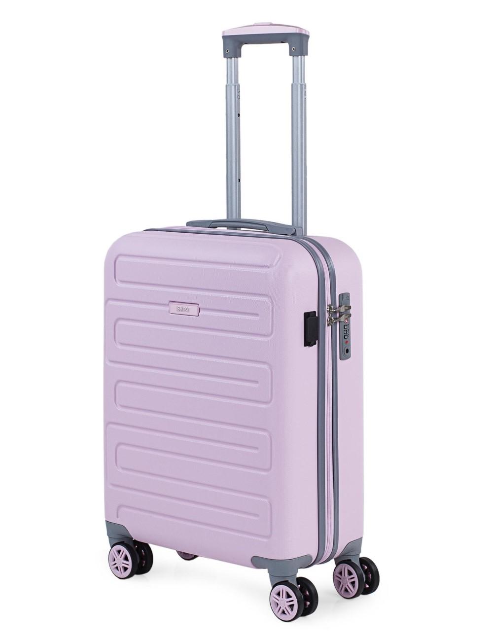 17505003 Maleta Cabina con salida puerto usb Skpat Mónaco rosa