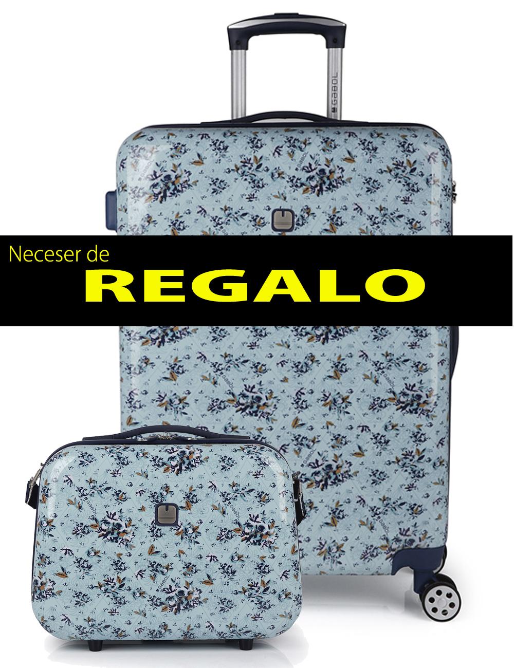 227046 N Maleta Mediana más Neceser de Regalo Gabol Betsy