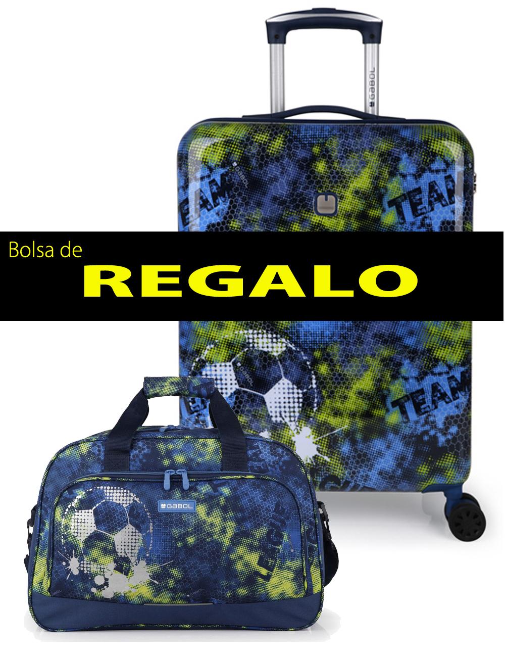 227222 B Maleta de Cabina más Bolsa de Viaje de Regalo Gabol Coach