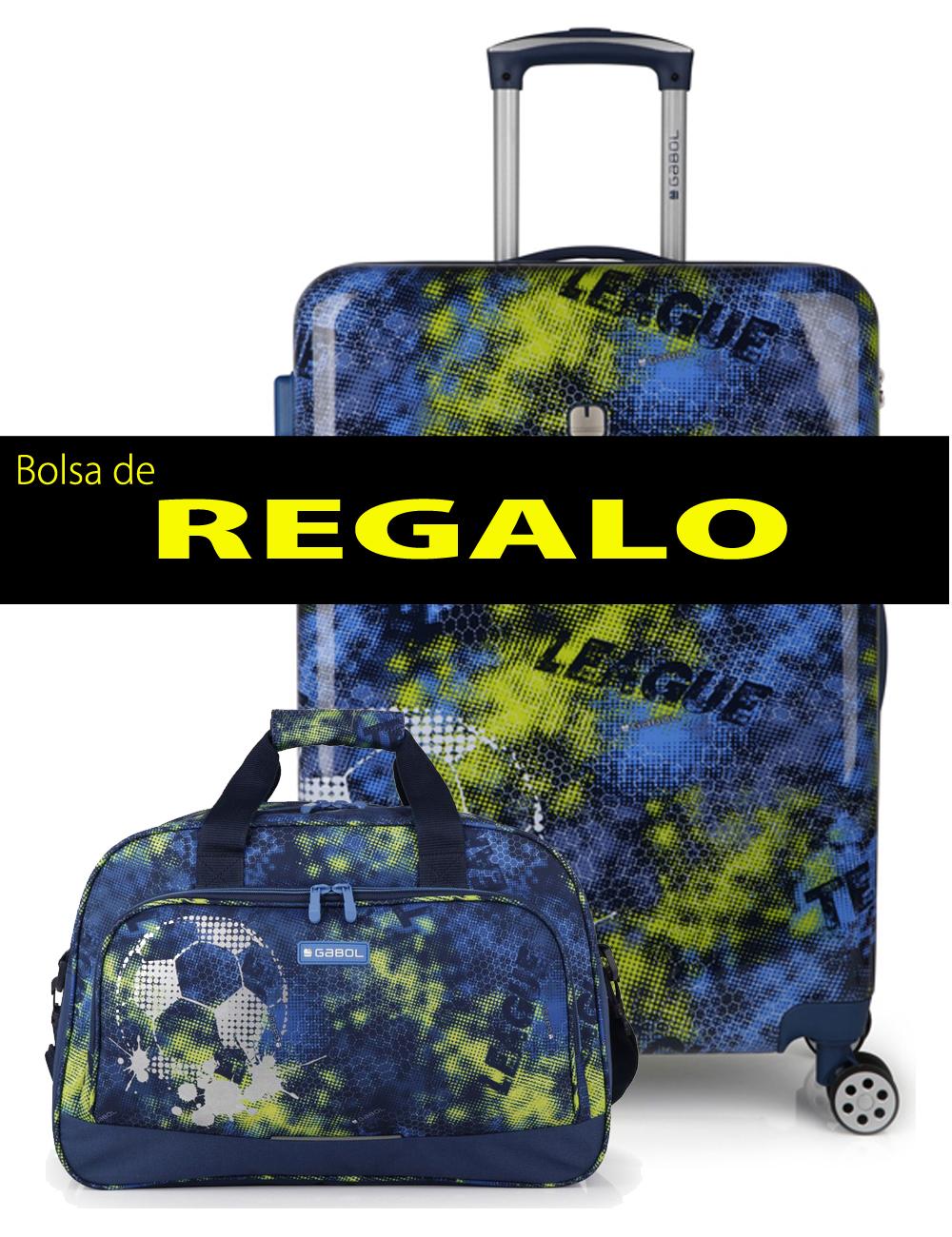227446 B Maleta Mediana más Bolsa de Viaje de Regalo Gabol Coach