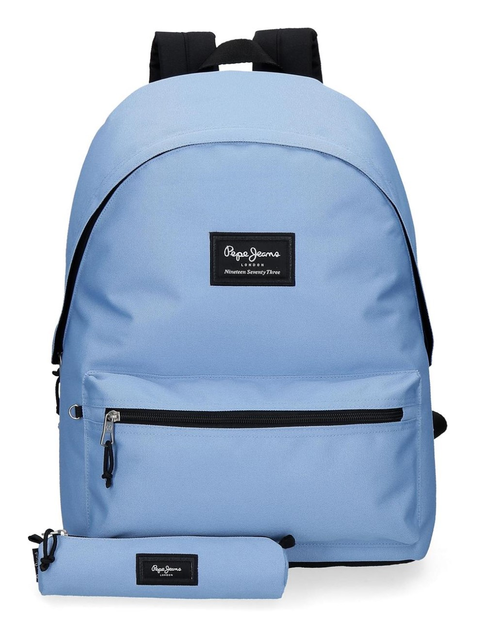 Mochila Un Compartimento Portaordenador + Portatodo Pepe Jeans Colorful azul 6329225