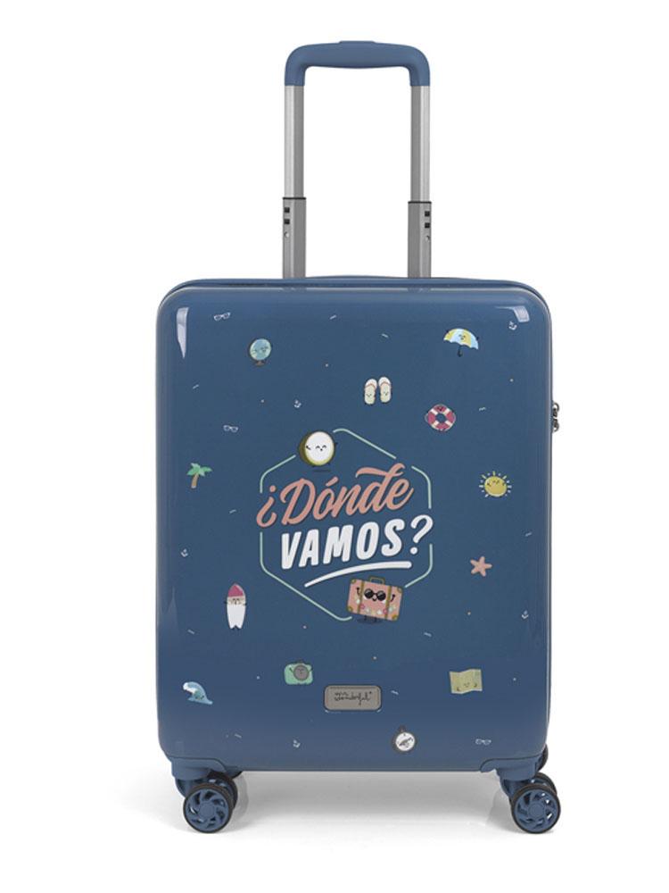 91903022 Maleta Cabina MR. WONDERFUL Colección Dónde Vamos