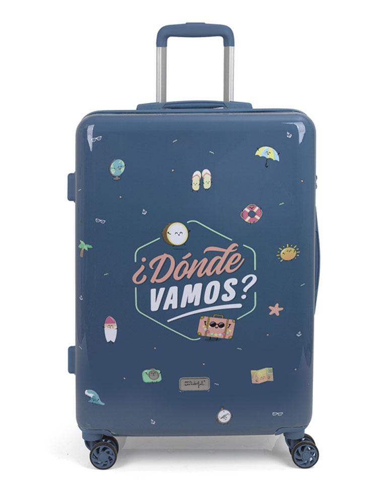 91903046 Maleta Mediana Colección Dónde Vamos MR. WONDERFUL