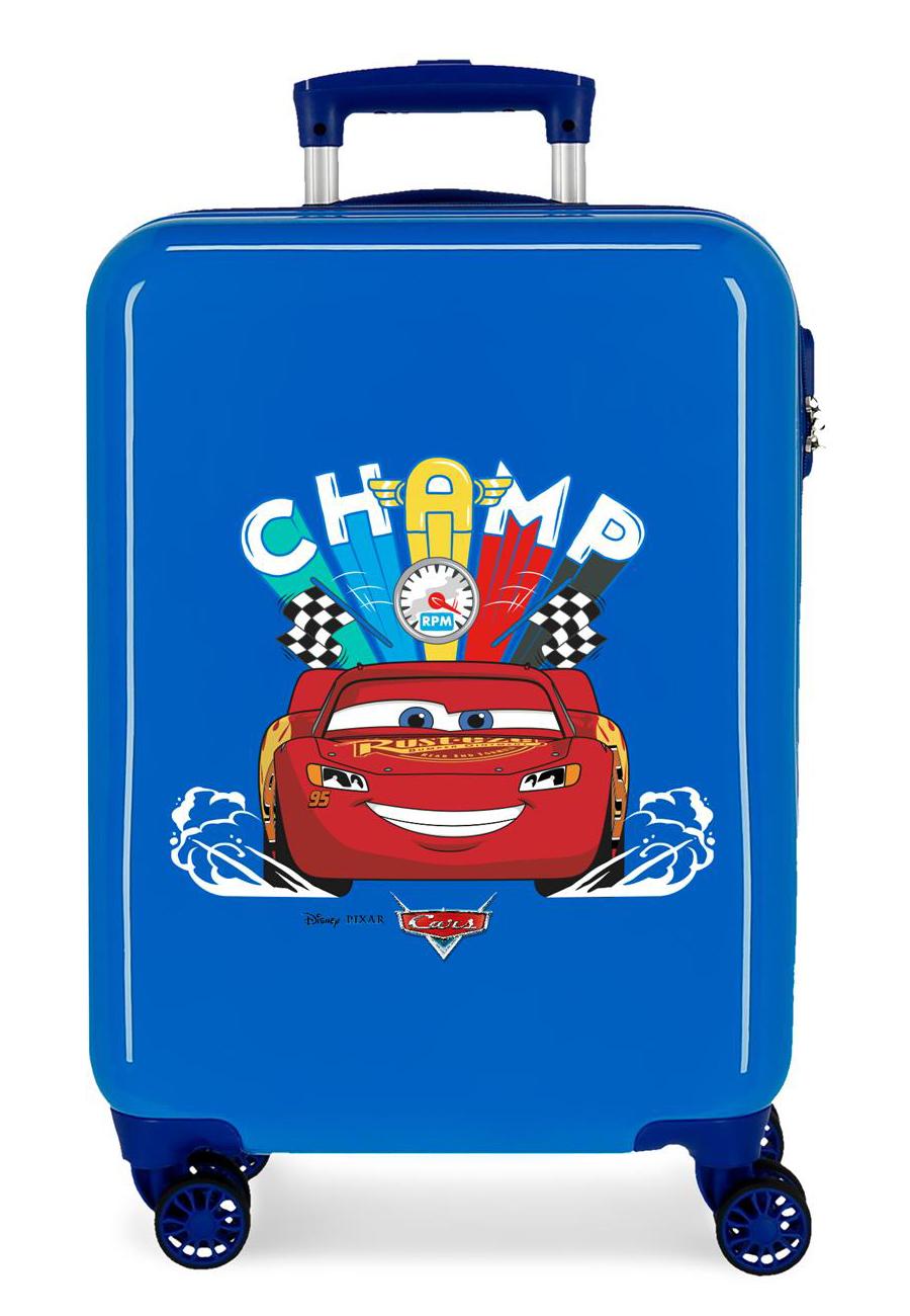 2041723 Maleta Cabina Cars Champ Azul
