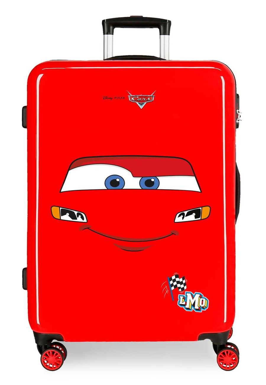 2041824 Maleta Mediana Cars LMQ Rojo