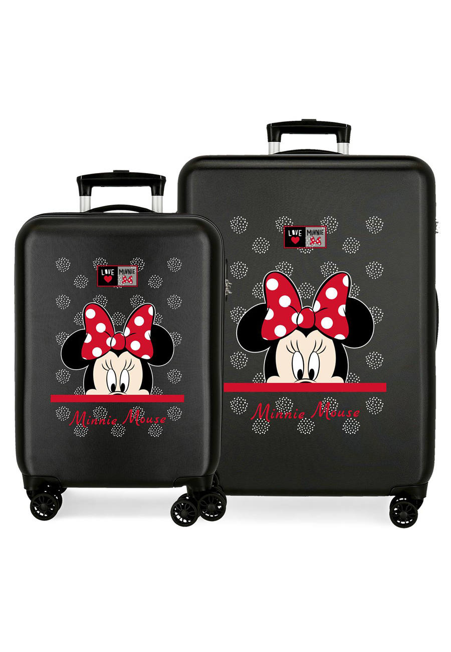 2161921 Juego Maletas Cabina y Mediana My Pretty Bow Minnie