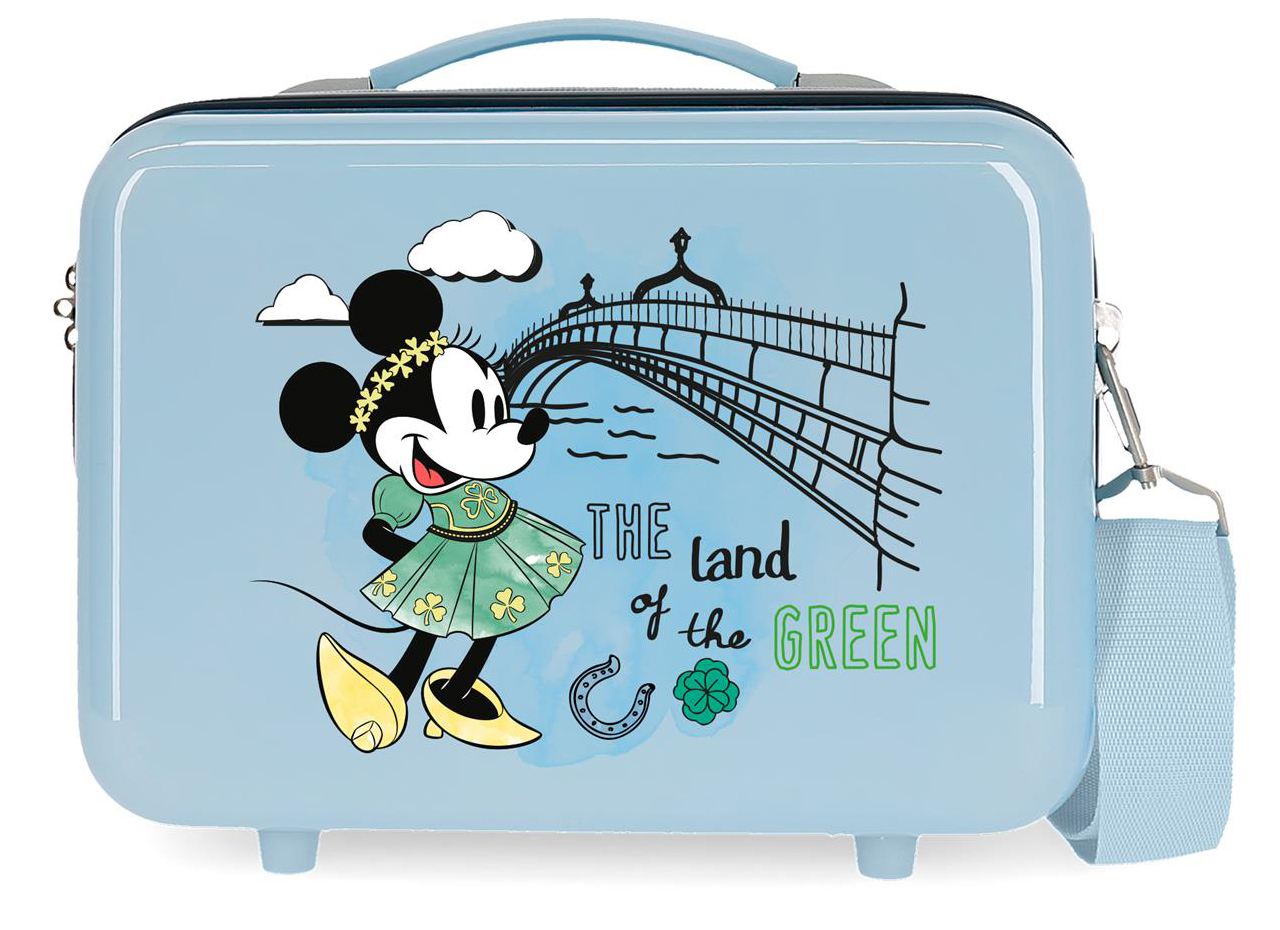 2283922 Neceser Lets Travel Minnie dublin azul