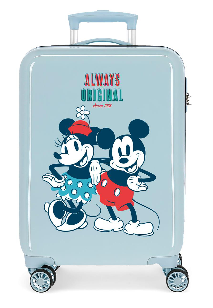 2321724 Maleta Cabina Mickey Always Original Azul Claro