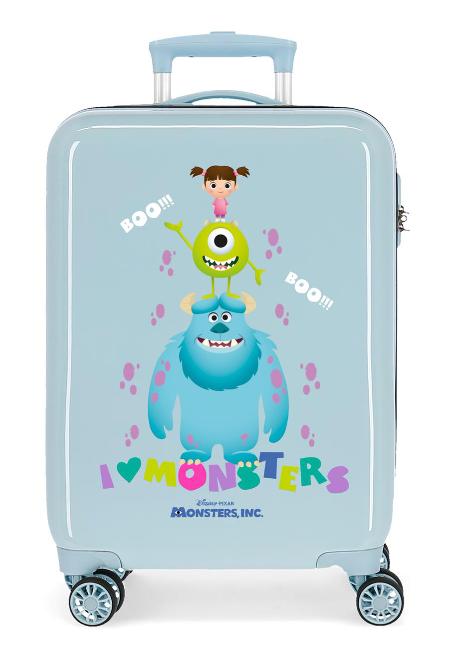 2451763 Maleta Cabina Monsters Boo azul