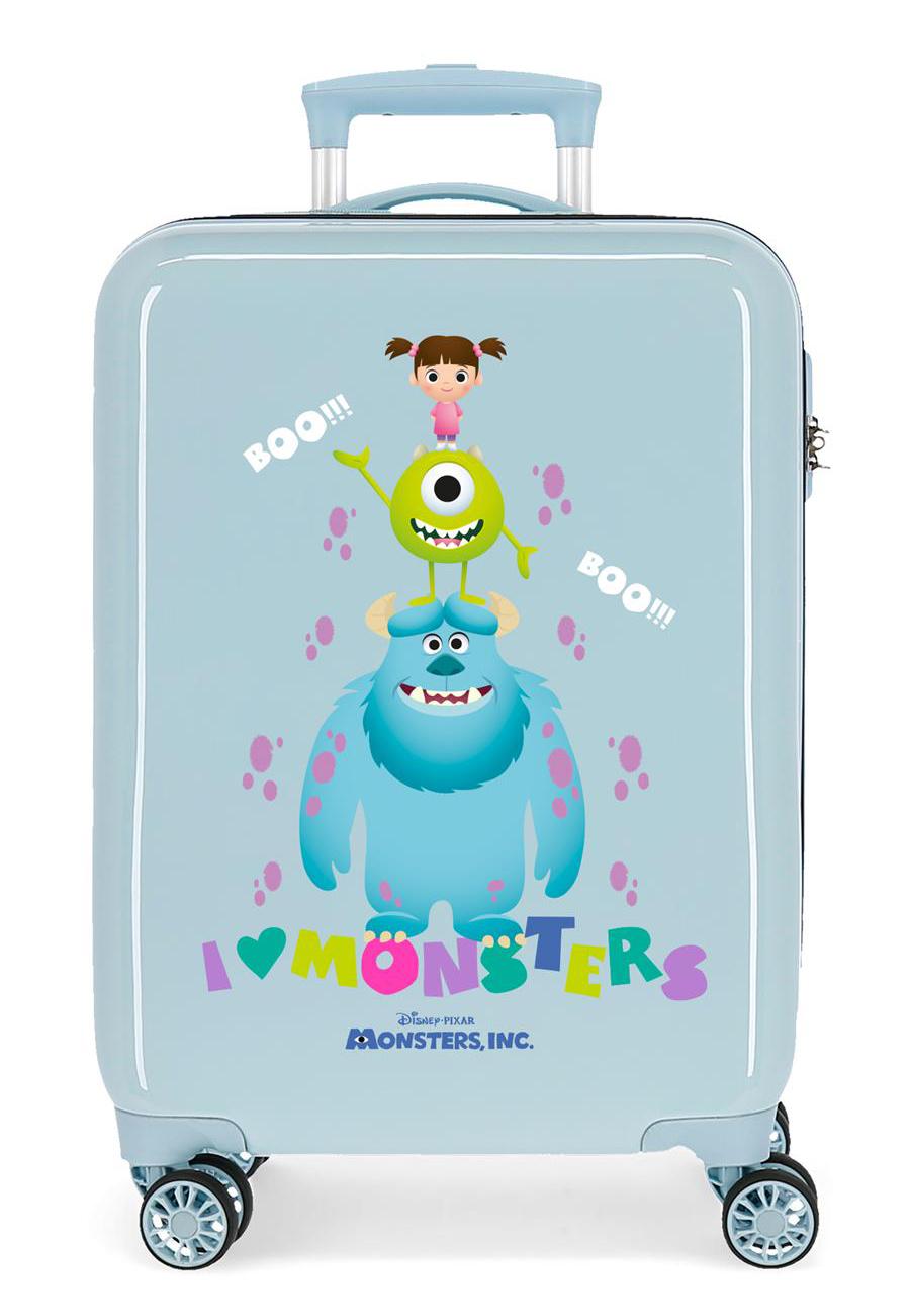 2451763 Maleta Cabina Monsters Boo azul
