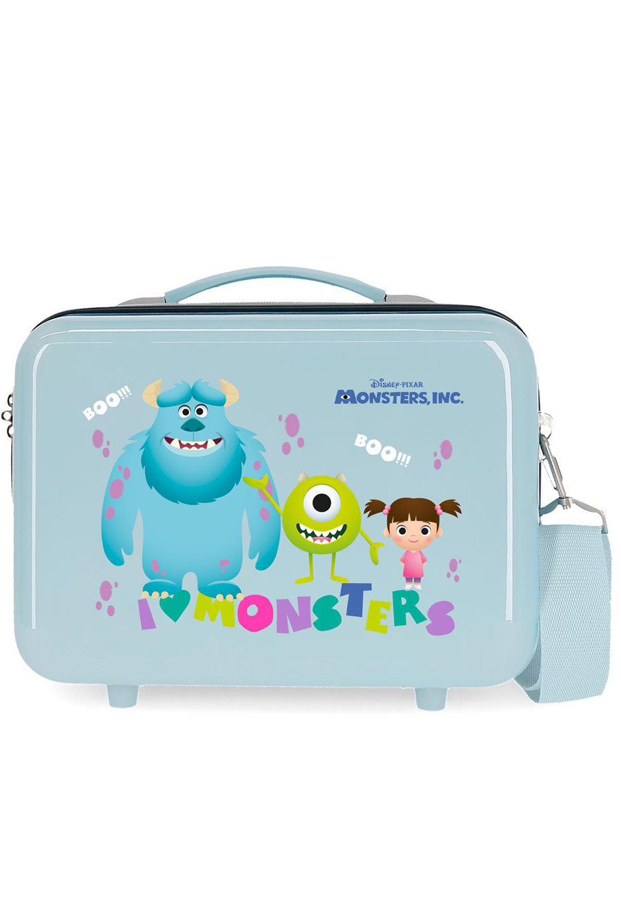 2453963 Neceser Monsters Boo! Azul Claro