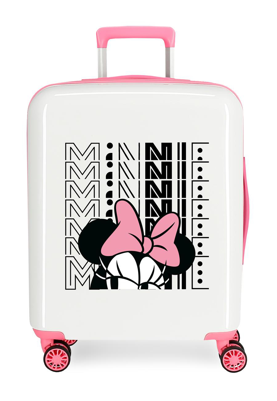 3419323 Maleta Cabina Pretty Minnie Lazo Rosa
