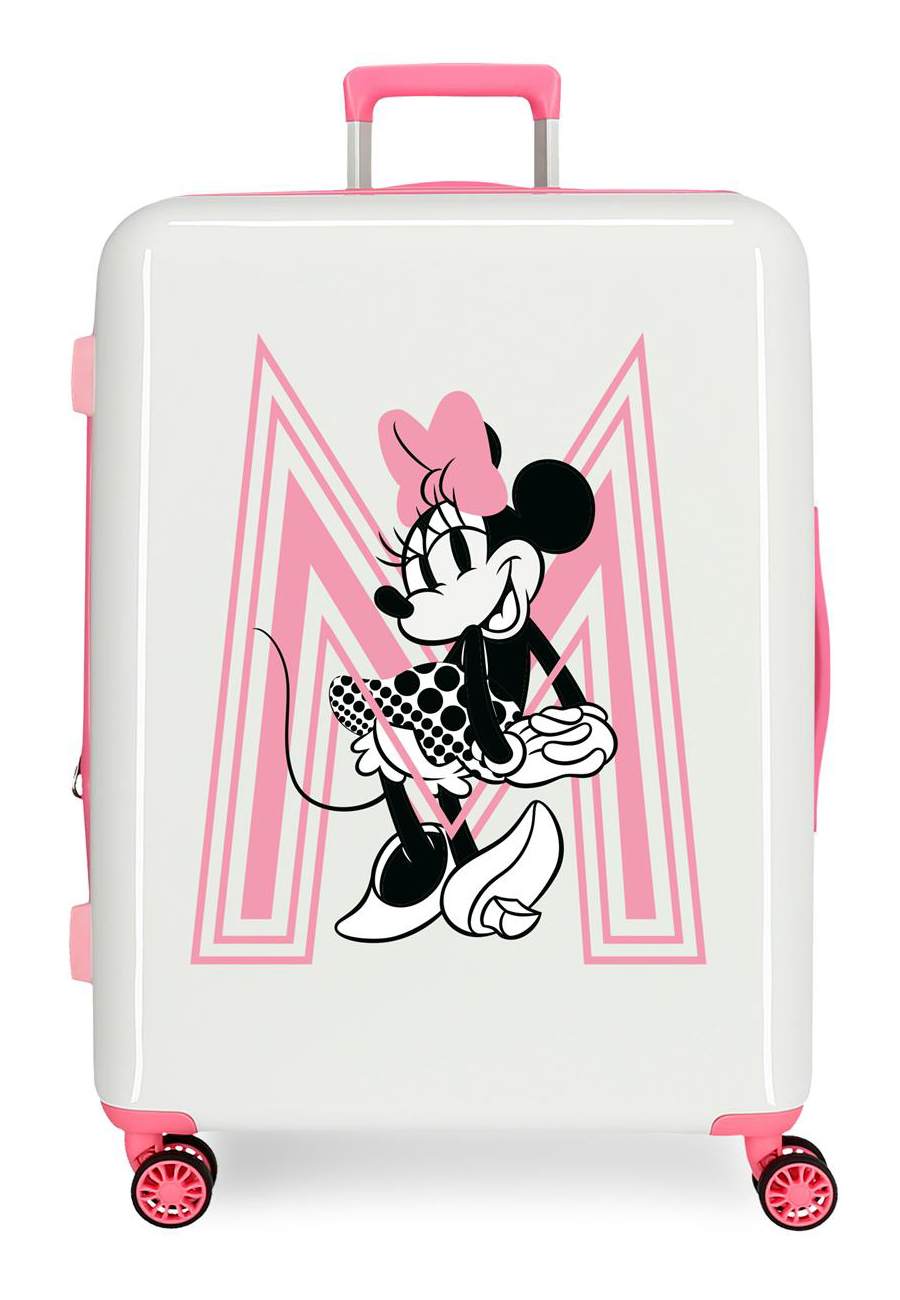 3419422 Maleta Mediana Pretty Minnie Rosa