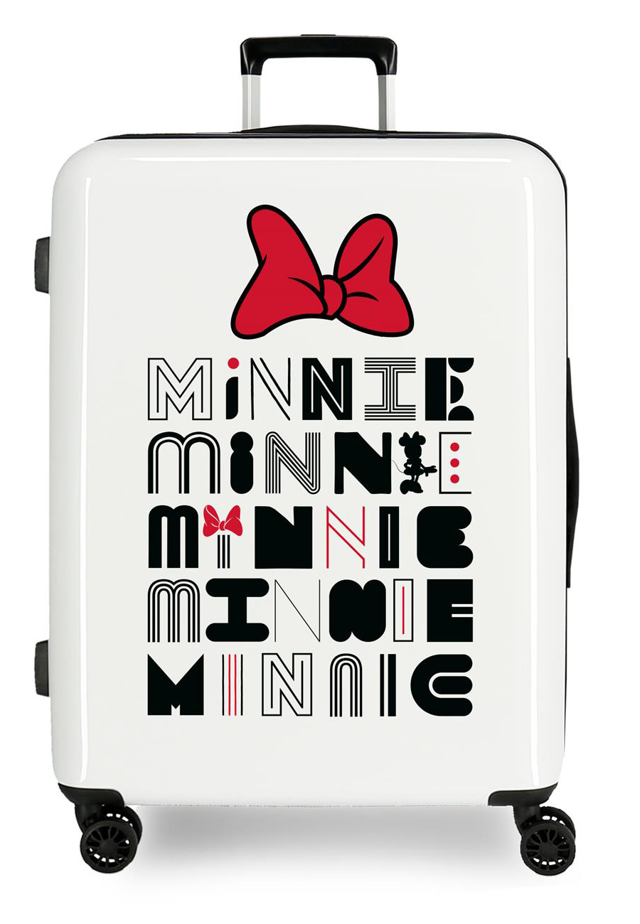 3419424 Maleta Mediana Pretty Minnie Lazo