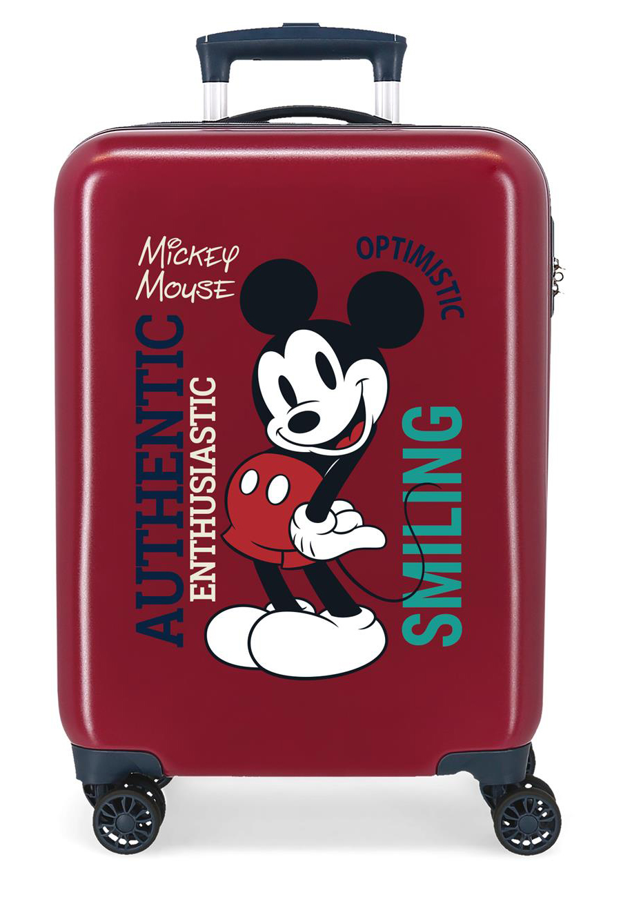 3421721 Maleta Cabina Mickey Original Authentique Granate