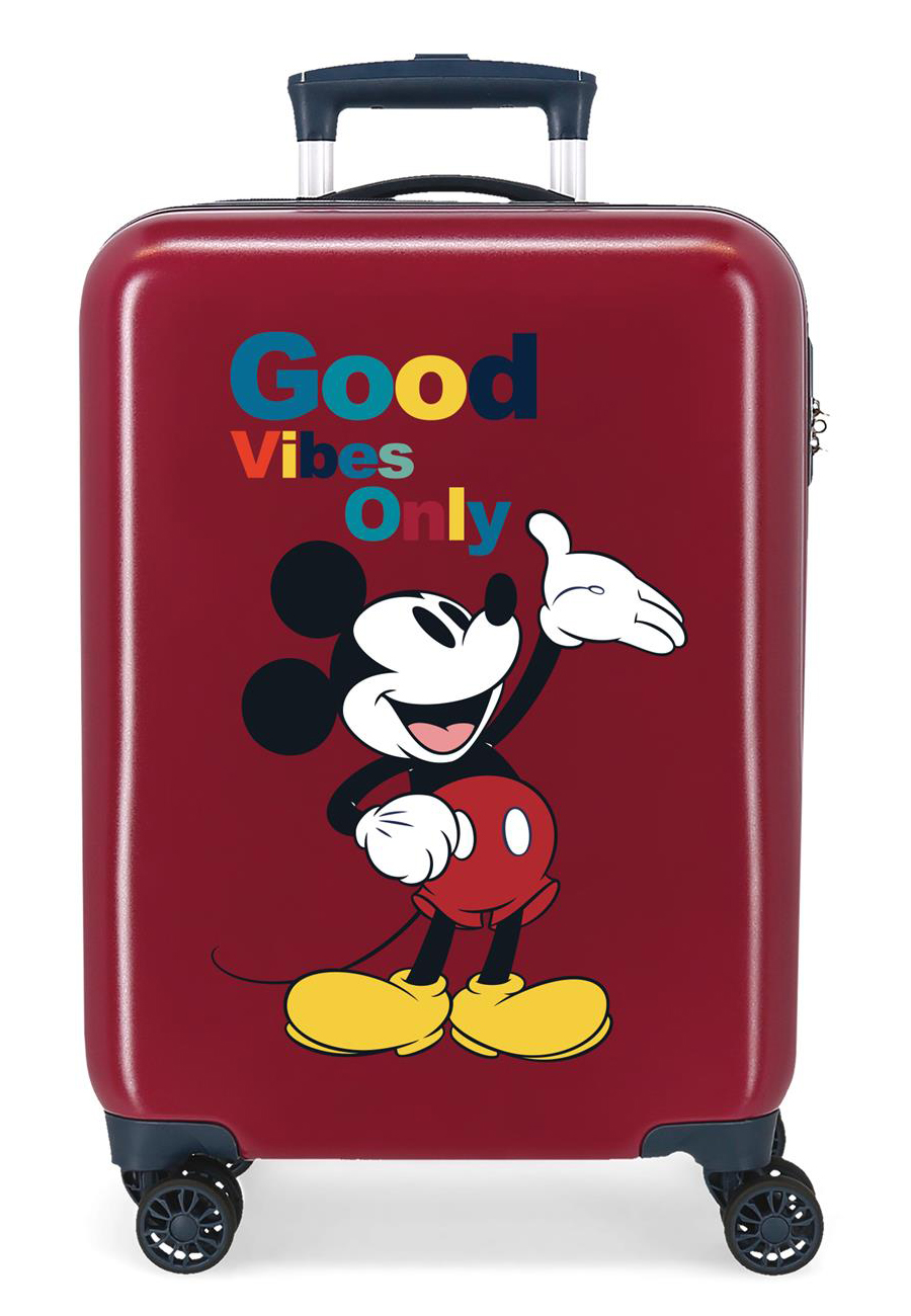 3421722 Maleta Cabina Mickey Original Good Vibes Only Granate