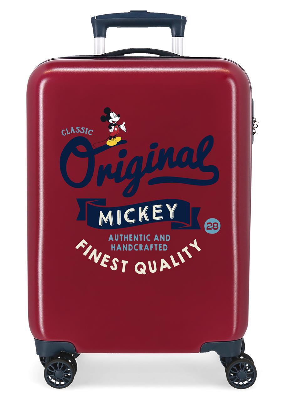 3421724 Maleta Cabina Mickey Original Classic Granate