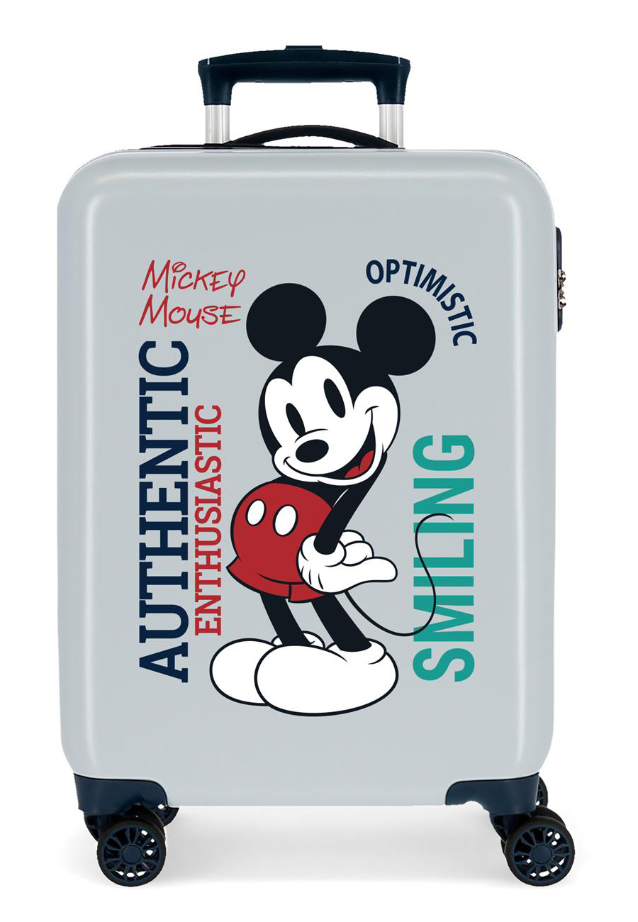 3421725 Maleta Cabina Mickey Original Authentique Azul